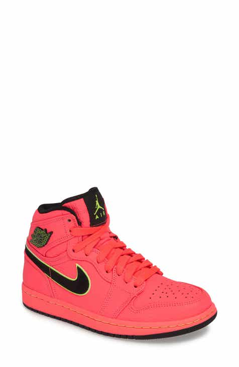 d11fb09fa6d8 Nike Jordan Air Jordan 1 Retro Premium High Top Sneaker (Women)