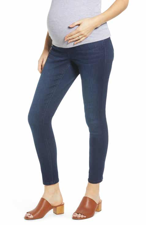 1822 Denim Sculpt Ankle Skinny Maternity Jeans (Marco) Sale