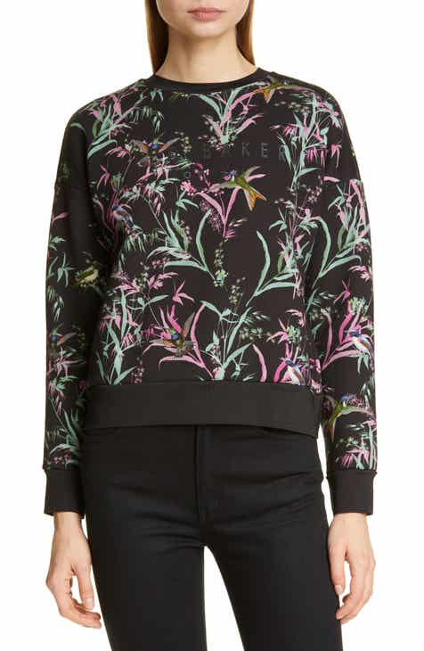 Ted Baker London Vencia Print Sweatshirt by TED BAKER LONDON