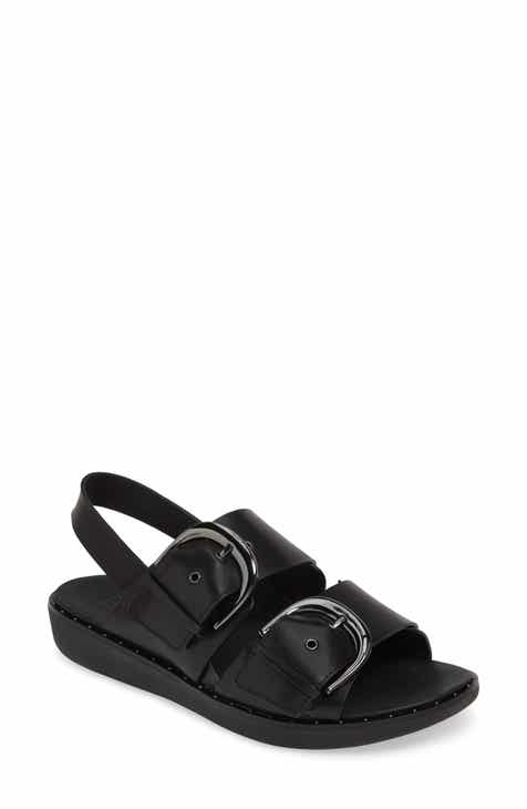 f8d080514bc9d FitFlop BuckleUp Embellished Slingback Sandal (Women) (Nordstrom  Exclusive).  139.95. Product Image. AVOCADO  BLACK  CHOCOLATE BROWN. New!