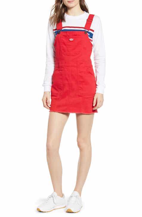 0793480f5588 Dickies Twill Overall Dress
