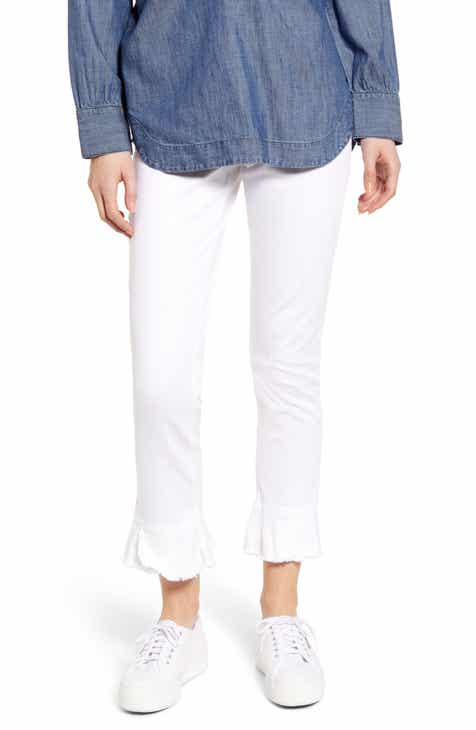 Liverpool Chloe Shadow Stripe Ankle Skinny Jeans (Montecito) by LIVERPOOL