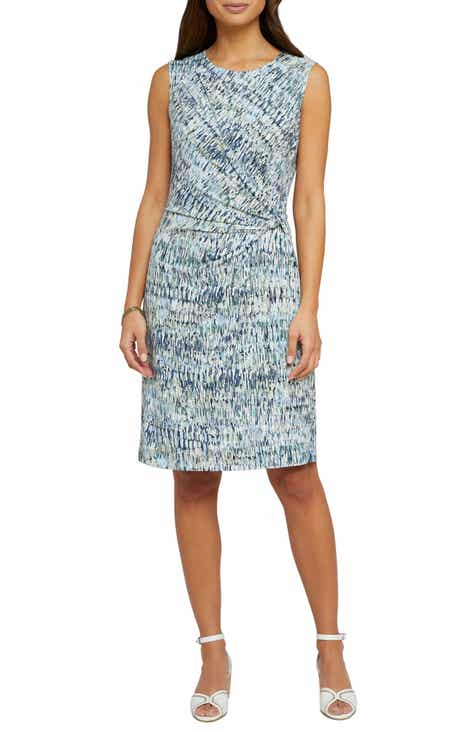 NIC+ZOE Field Impression Twist Sheath Dress (Regular & Petite) by NIC AND ZOE