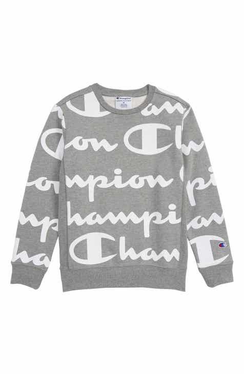 df73c6873cd1 Champion Giant Script Sweatshirt (Big Boys)