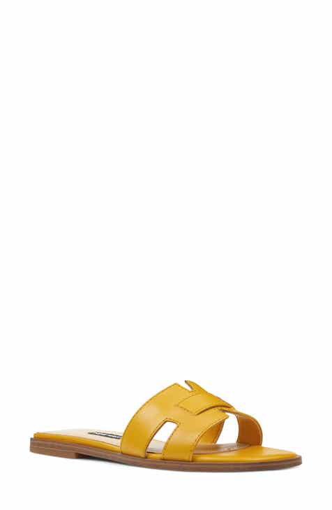 a7eb9e9148 Nine West Gianna Cutout Slide Sandal (Women)
