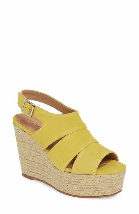 2b411cd51d4c2 Halogen® Alina Espadrille Wedge Sandal (Women)