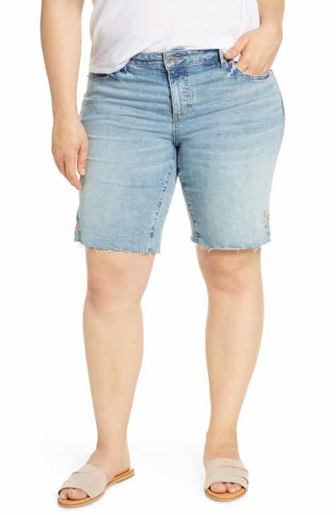 fb35fd159d Lucky Brand Georgia Denim Shorts (Plus Size)