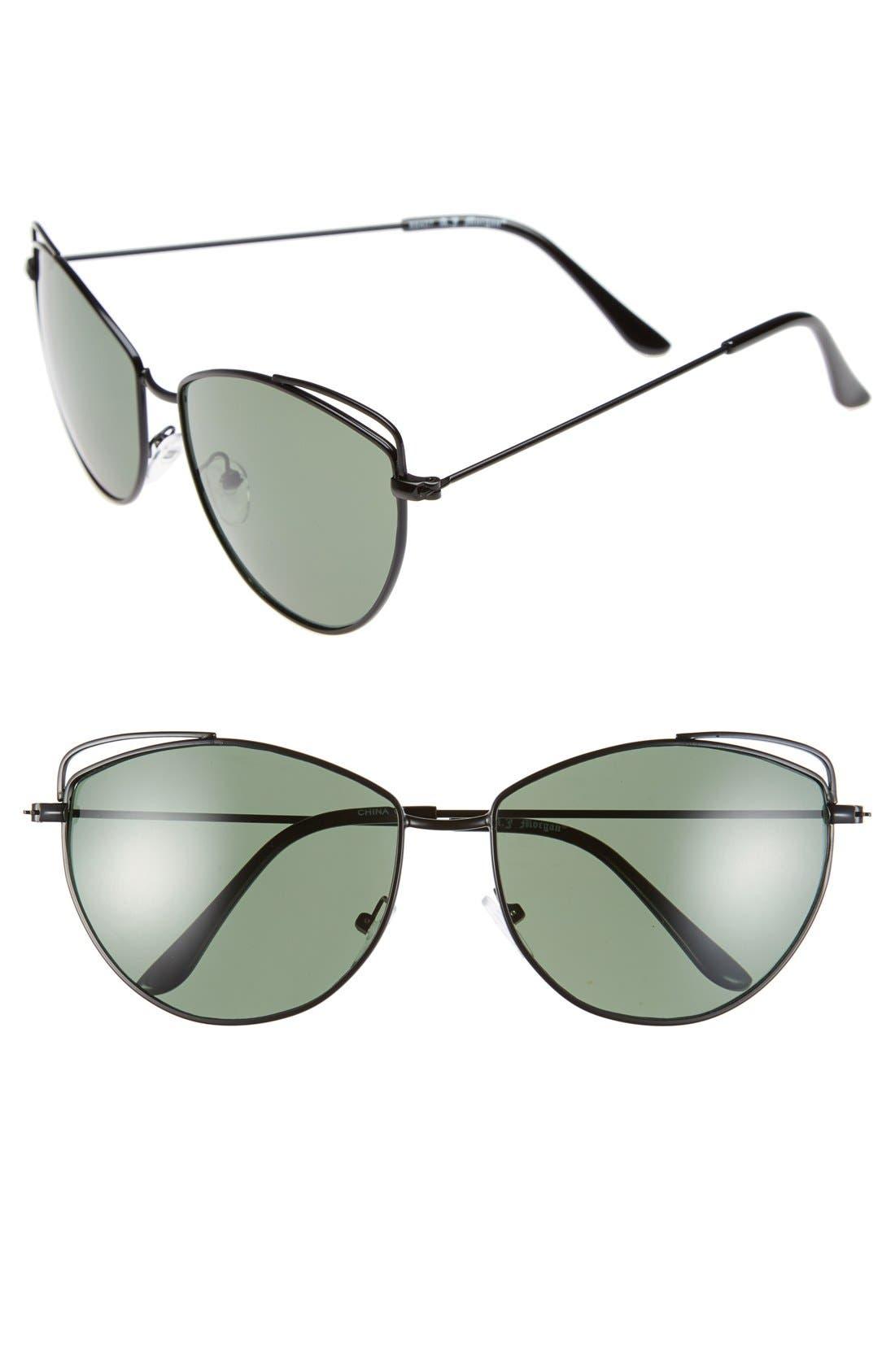 Alternate Image 1 Selected - A. J. Morgan 'Cute' 59mm Sunglasses