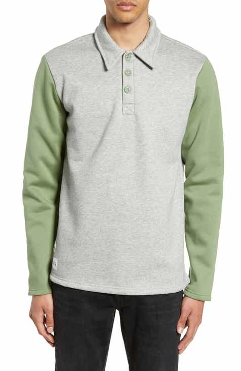 09a0f6ef611 Native Youth Brady Long Sleeve Polo