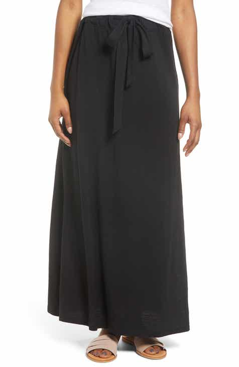 54eb8298138e Caslon® Knit Maxi Skirt (Regular & Petite). $49.00. Product Image. VISTA  CHERRY; BLACK