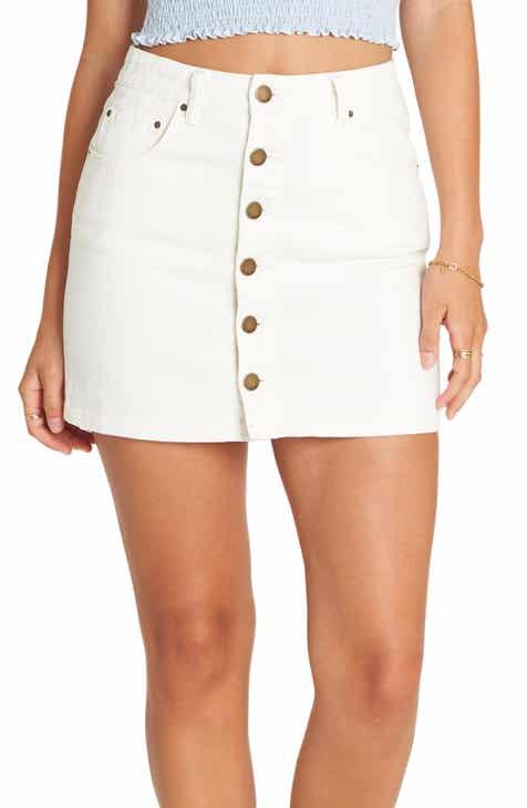 72f77bd6873 Billabong Good Life Denim Skirt (Sea Bleach)