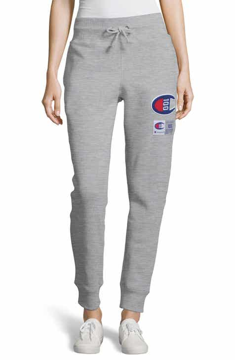 Champion Century Collection Logo Jogger Pants by CHAMPION