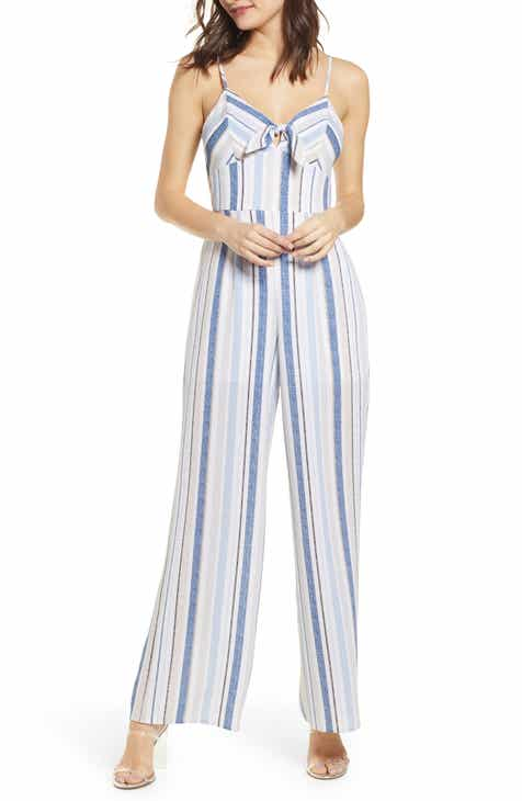 Row A Tie Front Jumpsuit by ROW A