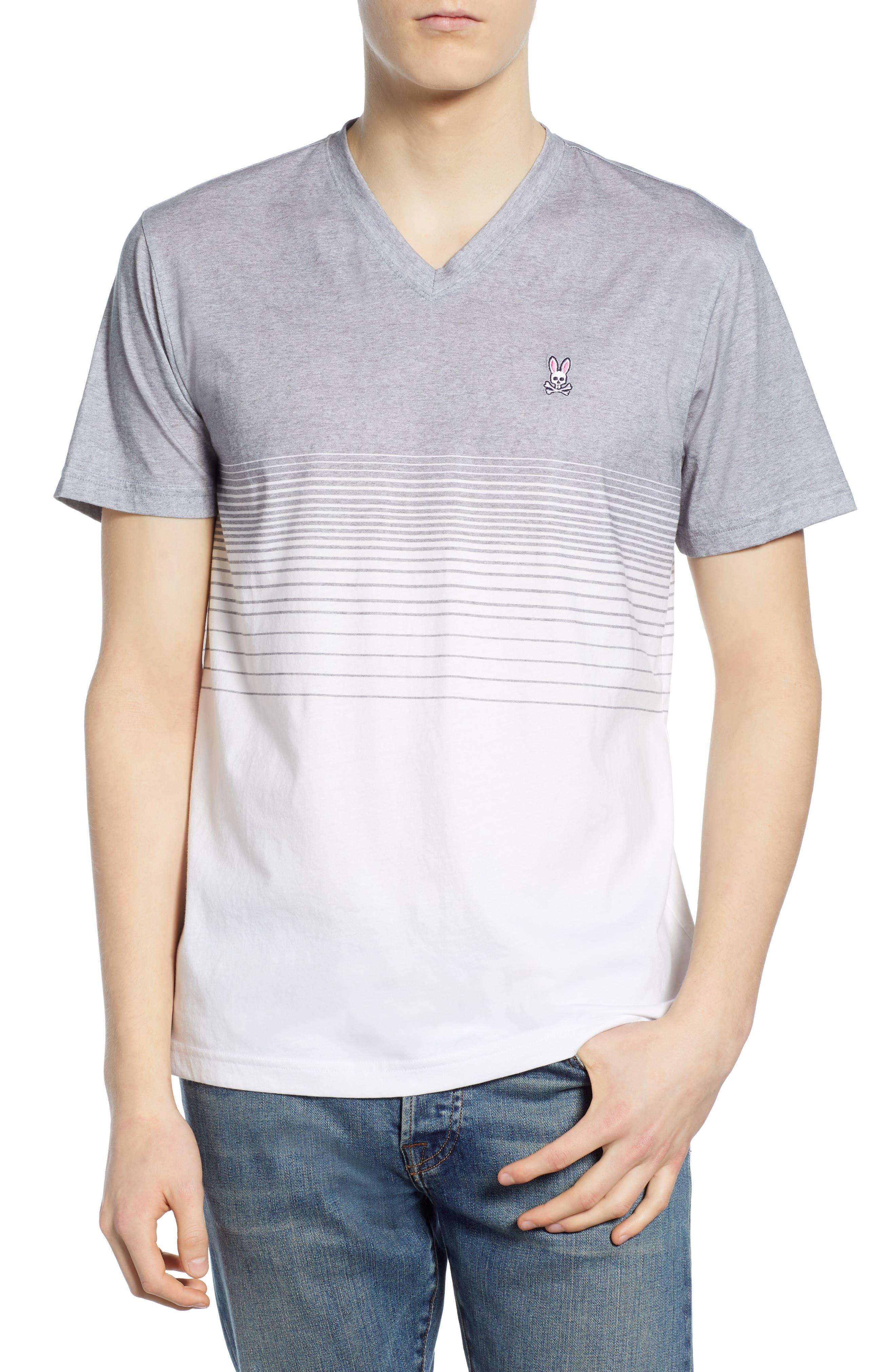 395137a1662 Men s Psycho Bunny V-Neck T-Shirts