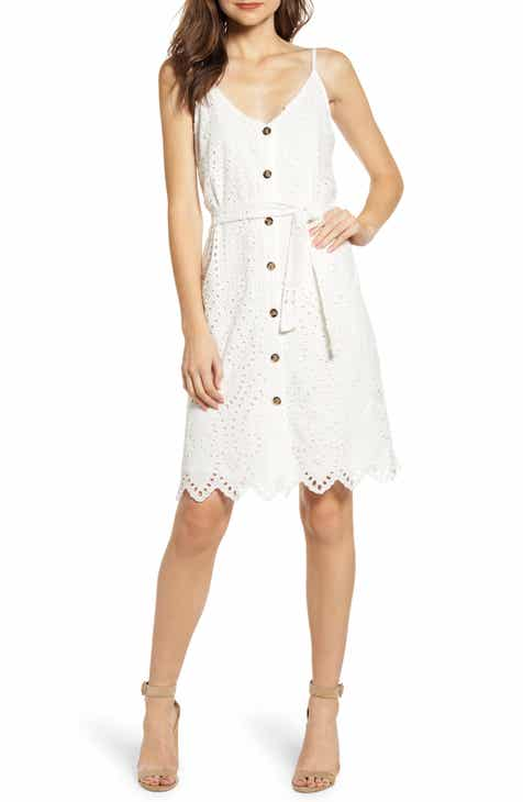 67c958ad322 Bishop + Young Eyelet Button Down Sundress