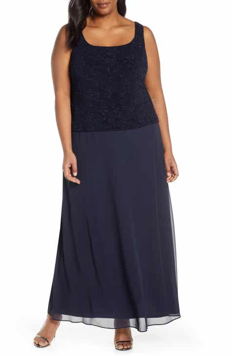 Blue Lace Dress Nordstrom
