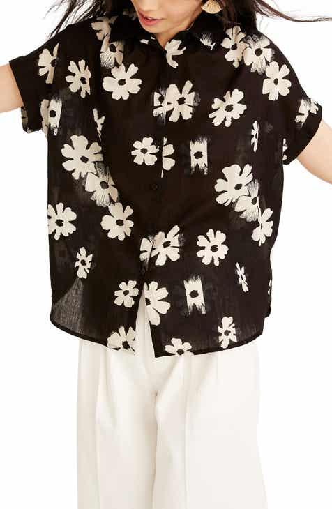 59390efcc0 Madewell Central Floral Print Shirt