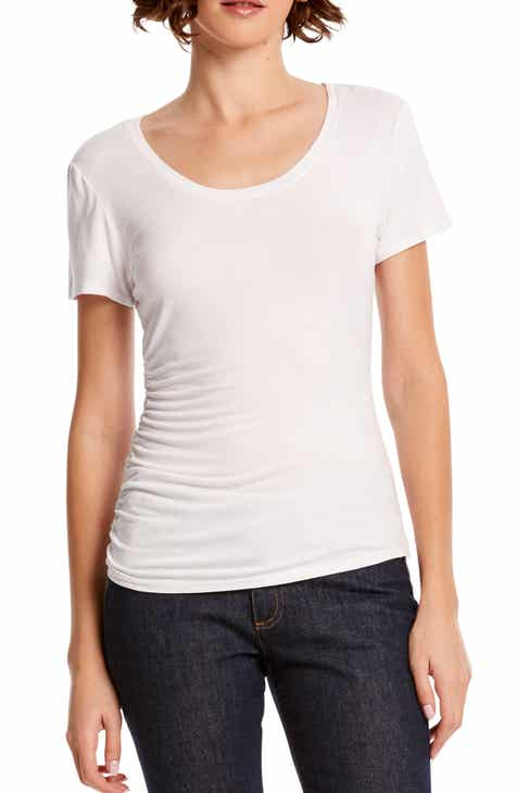 Michael Stars Lily Ruched Tee