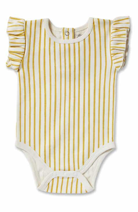 33b826998 Pehr Stripes Away Organic Cotton Bodysuit (Baby)