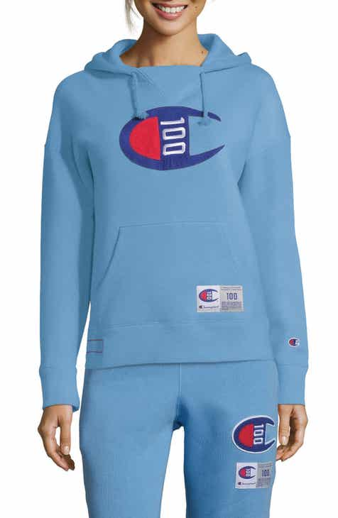 Champion Century Collection Logo Hoodie By CHAMPION by CHAMPION Today Only Sale
