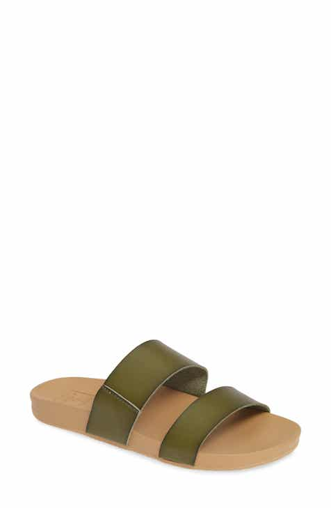 98ad3333d98 Reef Cushion Bounce Vista Slide Sandal (Women)