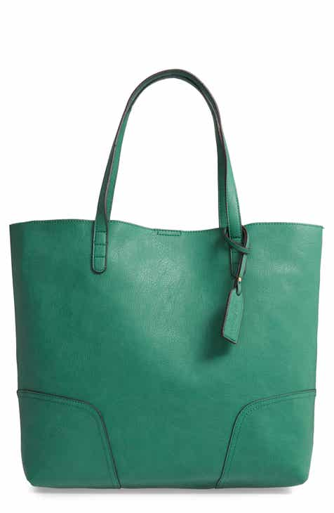 e63a41e1c2d Sole Society Lilyn Faux Leather Tote