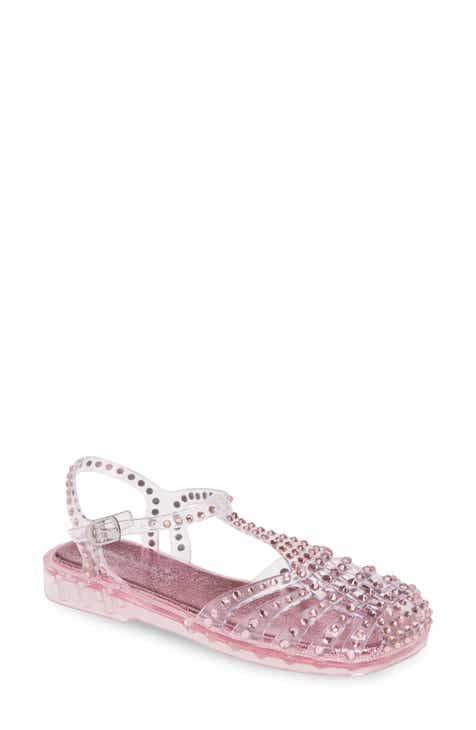 de59b4e498c2 Jeffrey Campbell Gelly Crystal Embellished Sandal (Women)