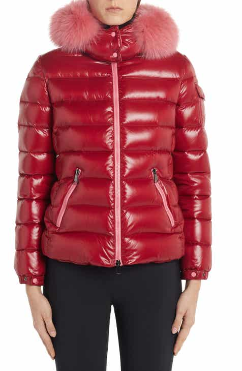 b0137bced7b Moncler Badyfur Quilted Down Puffer Jacket with Removable Genuine Fox Fur  Trim