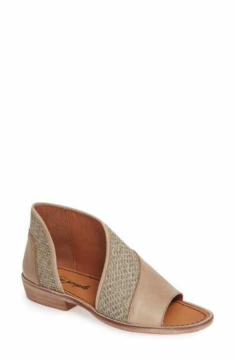 850657b68cd Free People  Mont Blanc  Asymmetrical Sandal (Women)
