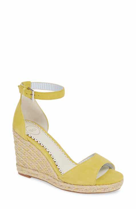def04c1fd60 1901 Nadine Espadrille Wedge Ankle Strap Sandal (Women)