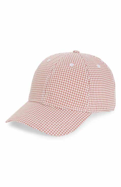 efe32c129e5 Madewell Gingham Tie-Back Baseball Cap