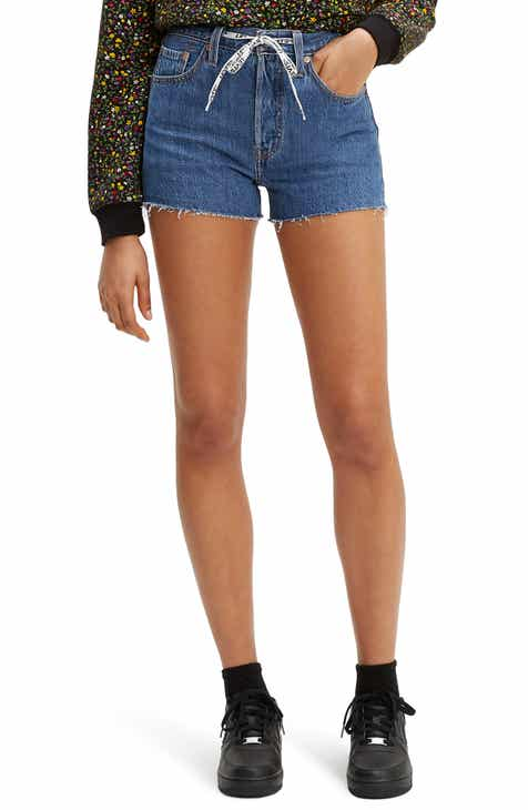3cdc7d167b Levi's® 501® High Waist Cutoff Denim Shorts (Draw Back)