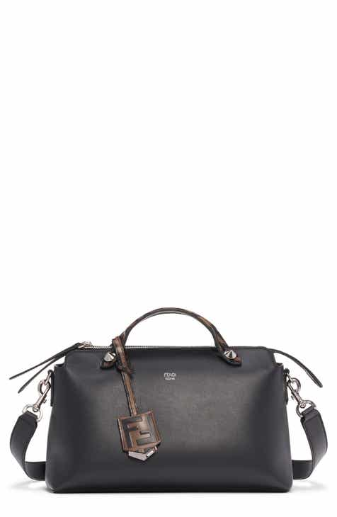 9337928915 Fendi Medium By the Way Leather Shoulder Bag