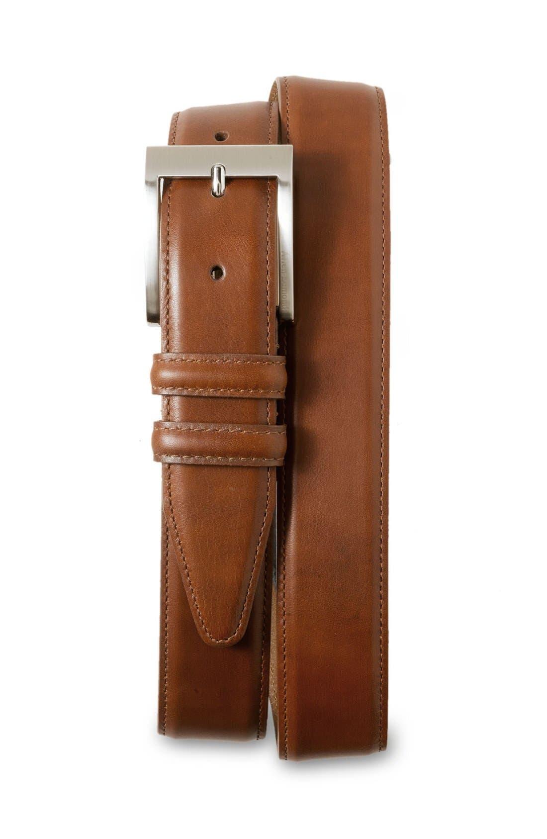 Alternate Image 1 Selected - Allen Edmonds Classic Wide Belt