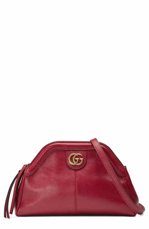 cd89cc04b35c0a Gucci Small RE(BELLE) Leather Crossbody Bag