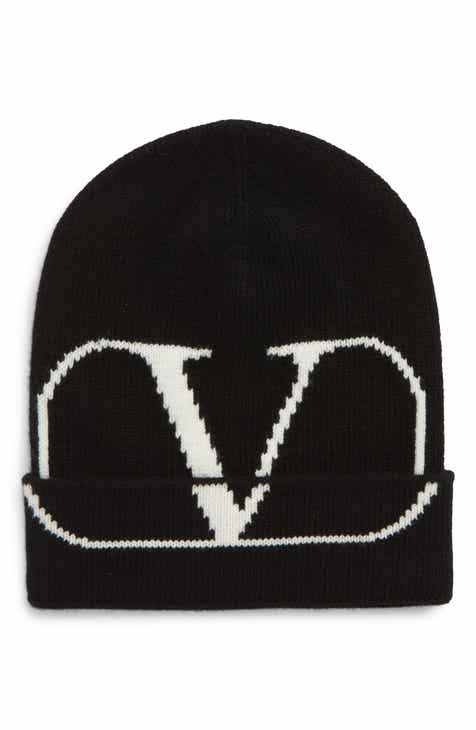premium selection 00854 a7ba5 Valentino V-Logo Wool   Cashmere Knit Cap
