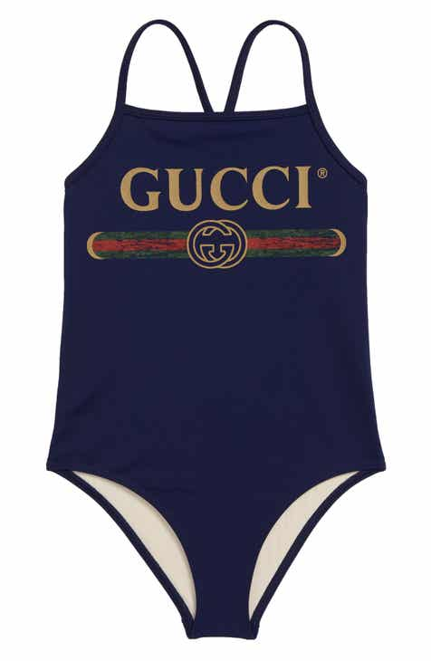 d39d19d61 Gucci One-Piece Swimsuit (Little Girls & Big Girls)