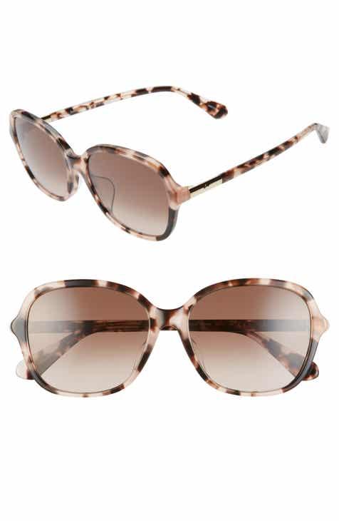 2e20b119fa kate spade new york bryleefs 56mm round sunglasses