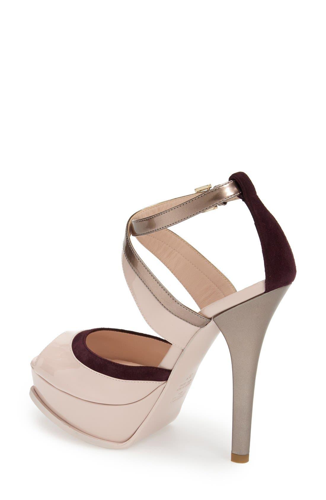 Alternate Image 2  - Fendi 'Fendista' Platform Sandal (Women)