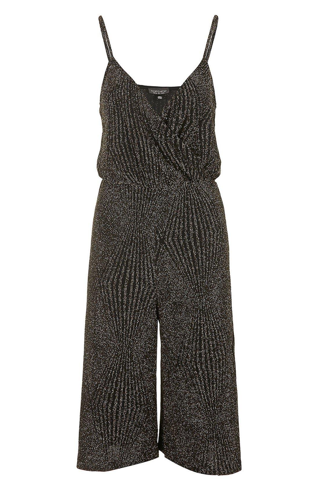 Alternate Image 3  - Topshop Culotte Jumpsuit
