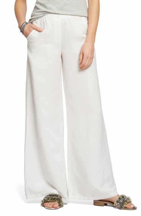 61993c45cc NIC+ZOE Refreshed Wide Leg Linen Blend Pants