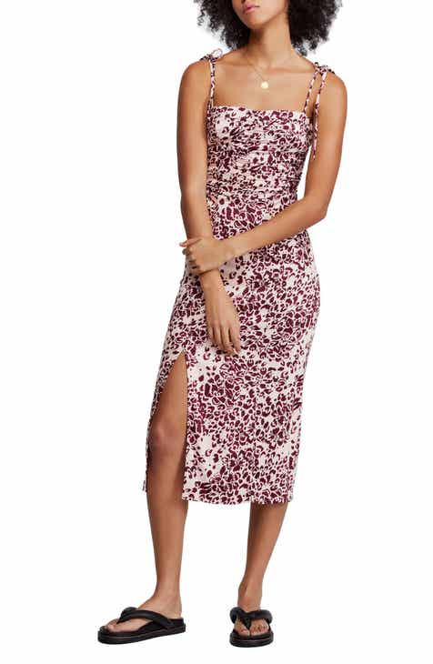 c66de7c146f2 Free People Show Stopper Body-Con Midi Dress