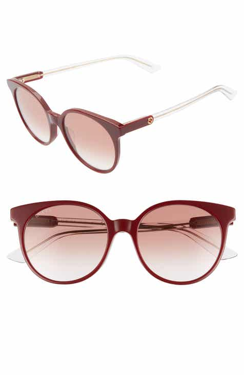 b5831c560e821 Gucci 54mm Round Sunglasses