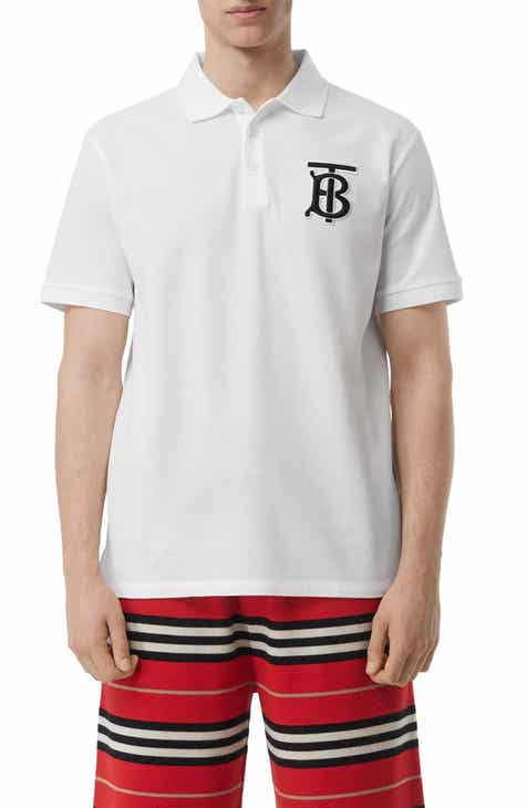 8dc8288d Burberry Warren Patch Short Sleeve Piqué Polo