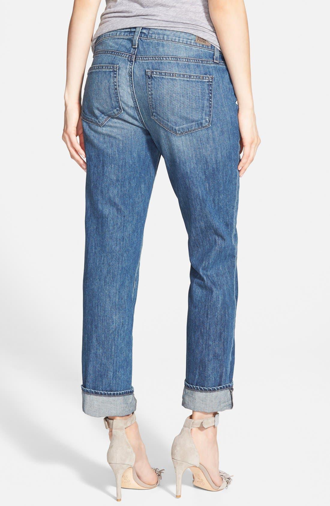 Alternate Image 2  - Paige Denim 'Porter' Boyfriend Jeans (Dazely)