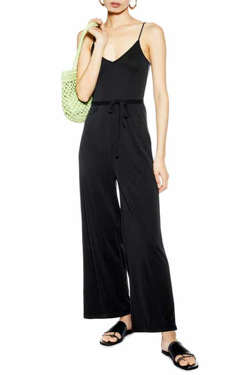 Topshop Ruth Wide Leg Jumpsuit