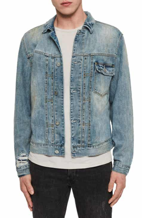ALLSAINTS Isidro Distressed Denim Jacket