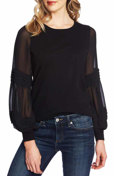 Cece Puff Sleeve Sweater