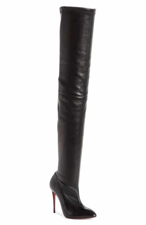 6d36158c84d Christian Louboutin Elouix Over the Knee Boot (Women)