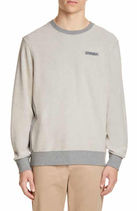 OVADIA & SONS Inside Out French Terry Sweatshirt